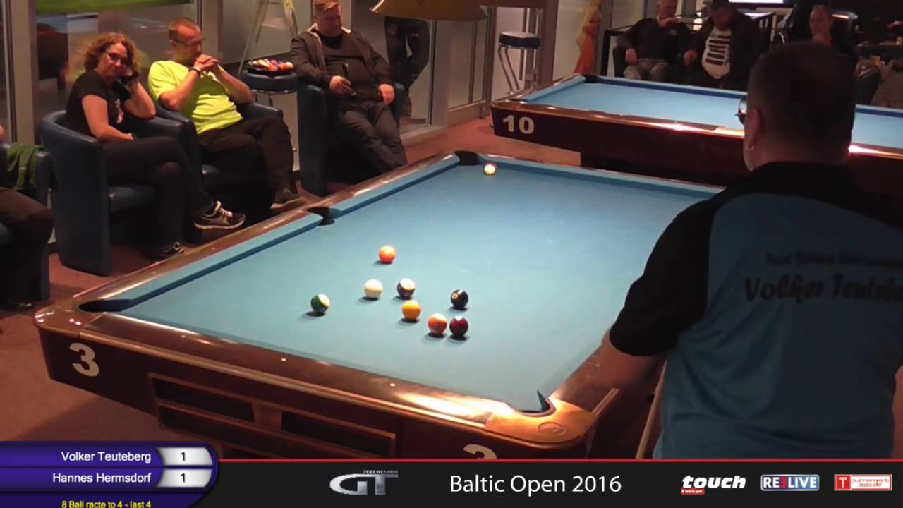 Billard Oldenburg Baltic Open 2016 Finale 8 Ball Powered By Nbv Reelive