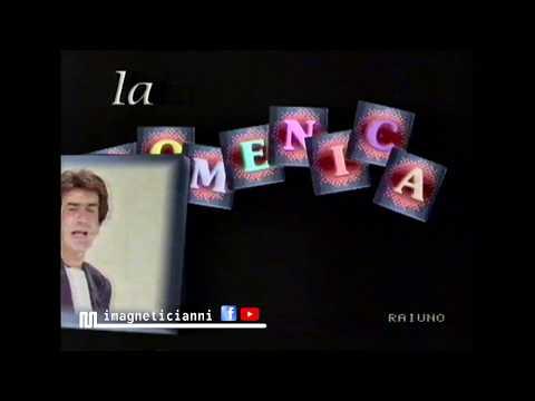1990 RaiUno promo Domenica In Estate