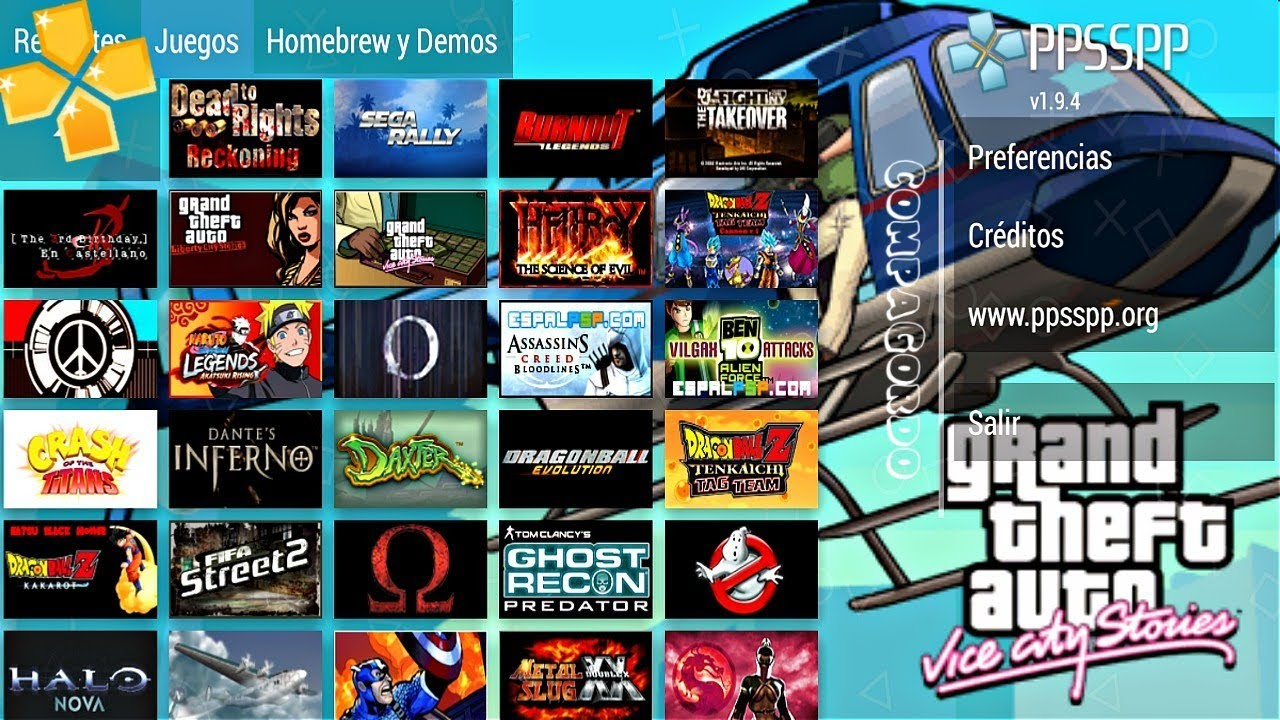 Top 10 : Mejores juegos para PPSSPP-Android 2020 #3 FULL