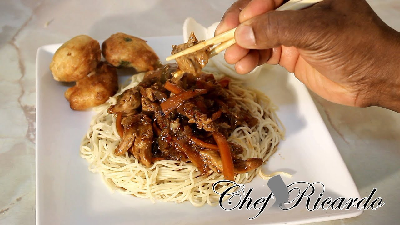 how to cook chinese fine egg noodles at home - YouTube