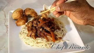 how to cook chinese fine egg noodles at home
