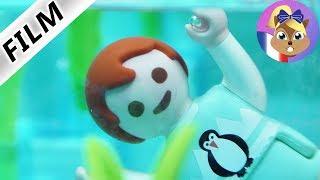 Film Playmobil en français - Emma se noie dans la piscine!? Elle ne sait pas nager! Famille Brie