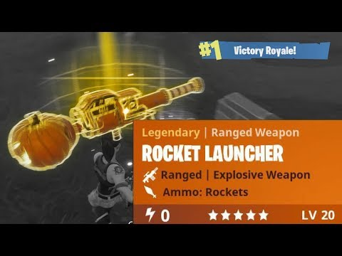 Halloween Pumpkin Launcher - Fortnite Solo