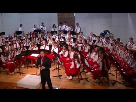 Broken Bow High School  Band - Christmas Concert 2015