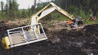 Спасение лесозаготовительной техники.