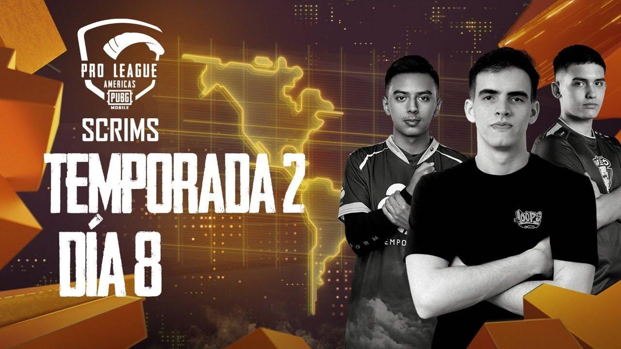 [ES] PMPL Americas Scrims Temporada 2 Dia 8 | PUBG MOBILE Pro League