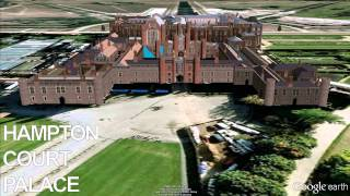 http://bit.ly/1aRAXkz - Hampton Court Palace - Google Earth