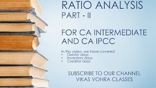 CA Intermediate (IPCC) | Ratio Analysis | Part II