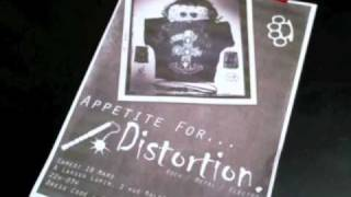 "Soirée ""Appetite For Distortion"" 19 Mars"
