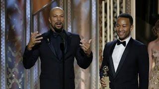 Meaningful Oscars acceptance speech – John Legend & Common – Glory