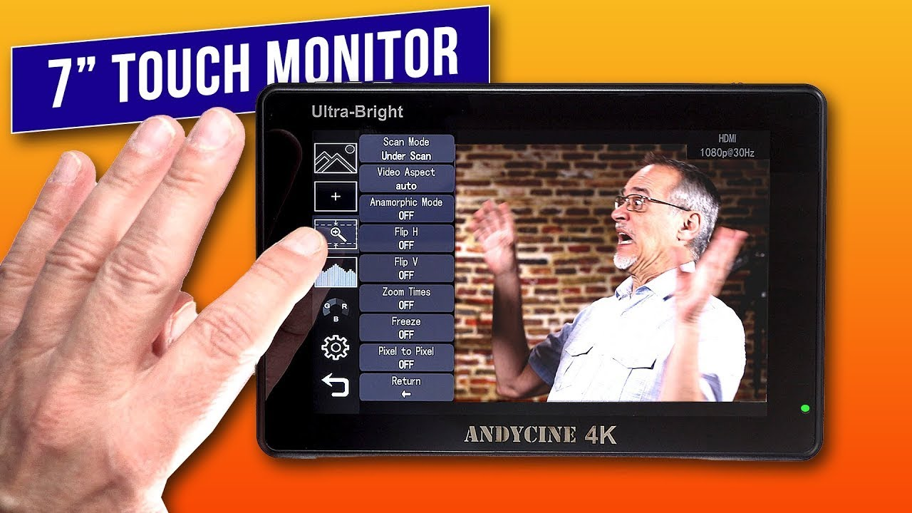 7 Inch Ultra-Bright Touchscreen Monitor - AndyCine C7 & C7s Review