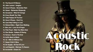 Acoustic Rock Songs 60s 70s 80s - Top Classic Rock Acoustic Rock Songs All Time