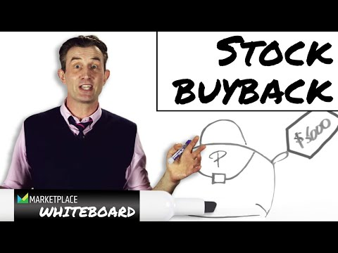 How a stock buyback works