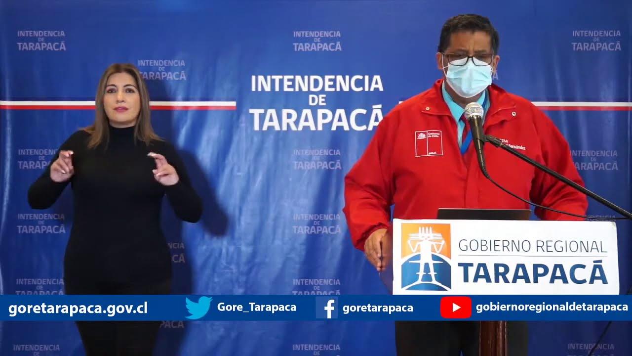 Punto de prensa 03 de agosto de 2020 - Gobierno Regional de Tarapacá