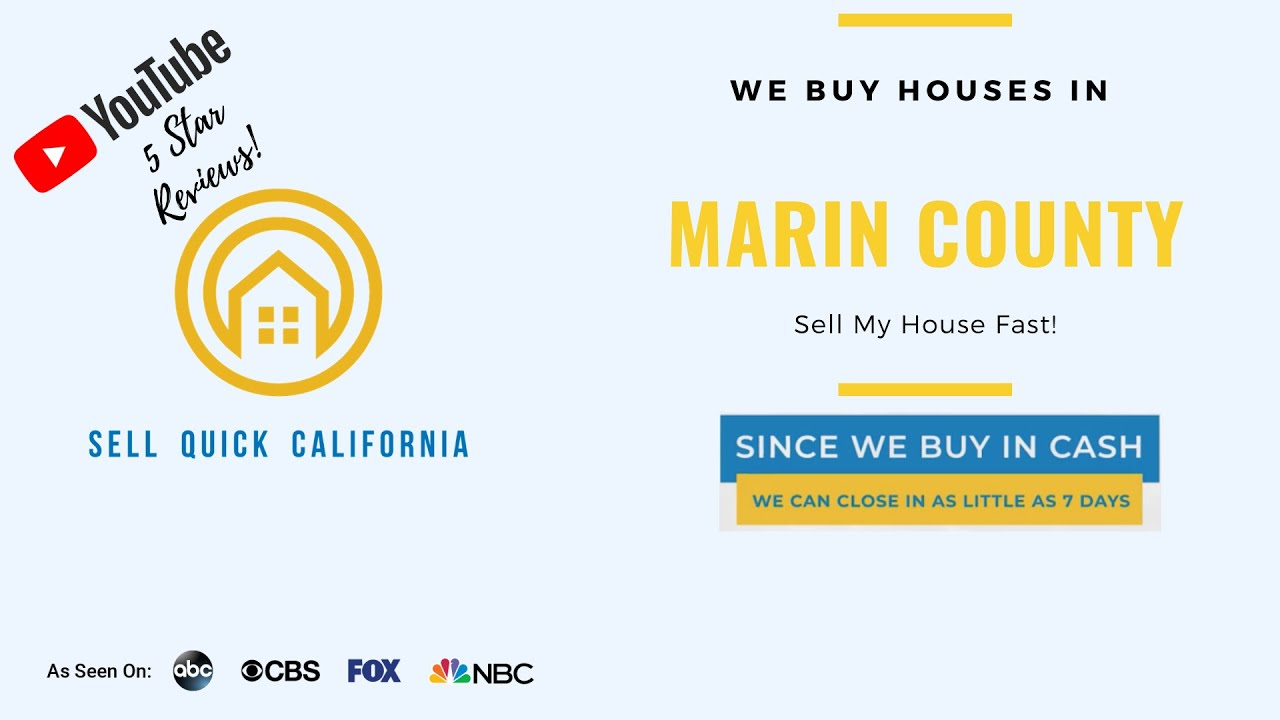 """We Buy Houses In  Marin County 