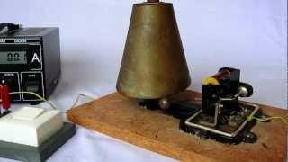 Elektrische Klingel Schulglocke Glocke Bronze