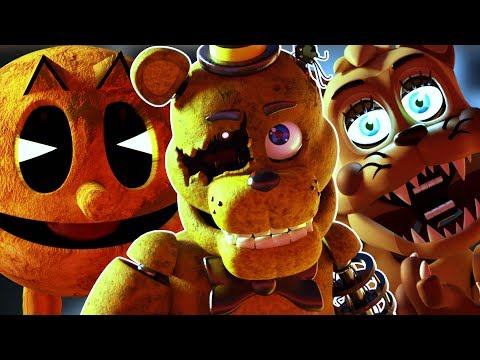 THERE IS A PACMAN ANIMATRONIC... || FNAF Animator's Hell Part 3