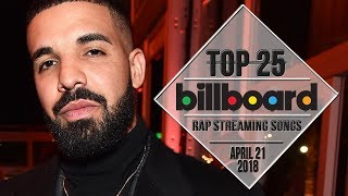 Top 25 • Billboard Rap Songs • April 21, 2018 | Streaming-Charts