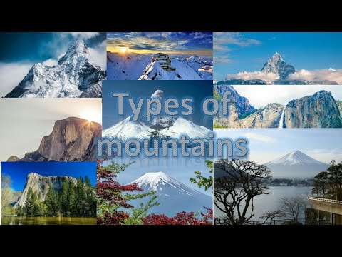 Types of mountains | Formation | Geography