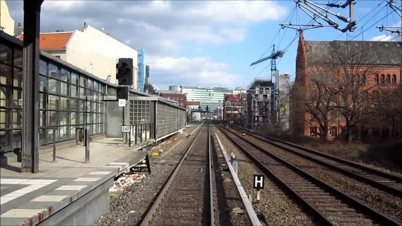 Führerstandsmitfahrt S Bahn Berlin Br481 S7 Wannsee