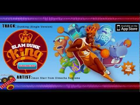 """SLAM DUNK KING iPhone App Soundtrack Song """"Dunking"""" MP3 [free DL] HD"""