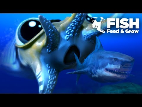 Giant CuttleFish Seeks Revenge! - Fish Feed Grow   18