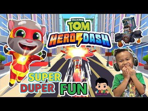 Talking Tom Hero Dash | Super GamePlay