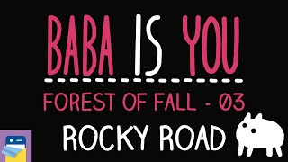 Baba Is You: Rocky Road - Forest of Fall Level 03 Walkthrough (by Arvi Teikari / Hempuli)