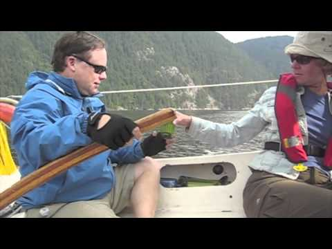 Sailing Indian Arm In Barnet Sailing Coop Boat