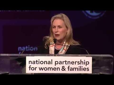 U.S. Senator Kirsten Gillibrand, 2016 Gala Dinner, National Partnership