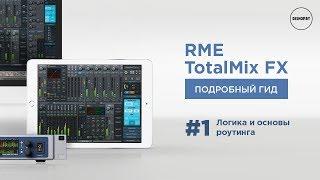RME TotalMix FX - Логіка і Основи Роутінга (ч. 1)