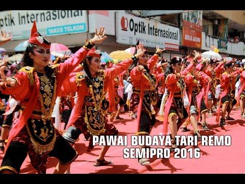 PAWAI BUDAYA TARI REMO SEMIPRO 2016 at PROBOLINGGO - Documentary Sanggar Tari Arbaya