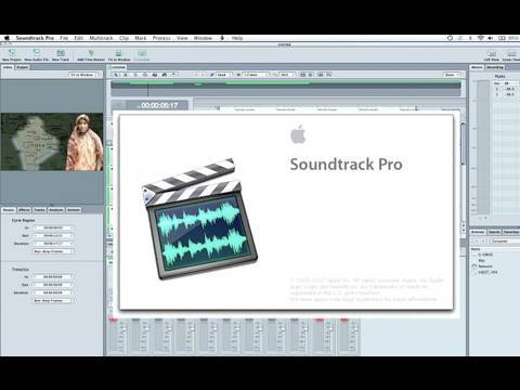 Soundtrack Pro Overview