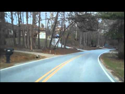Glenn Bridge Road thru Avery's Creek, Arden NC 01 22 2015