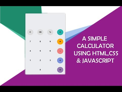 How To Build A Simple Calculator Using Javascript