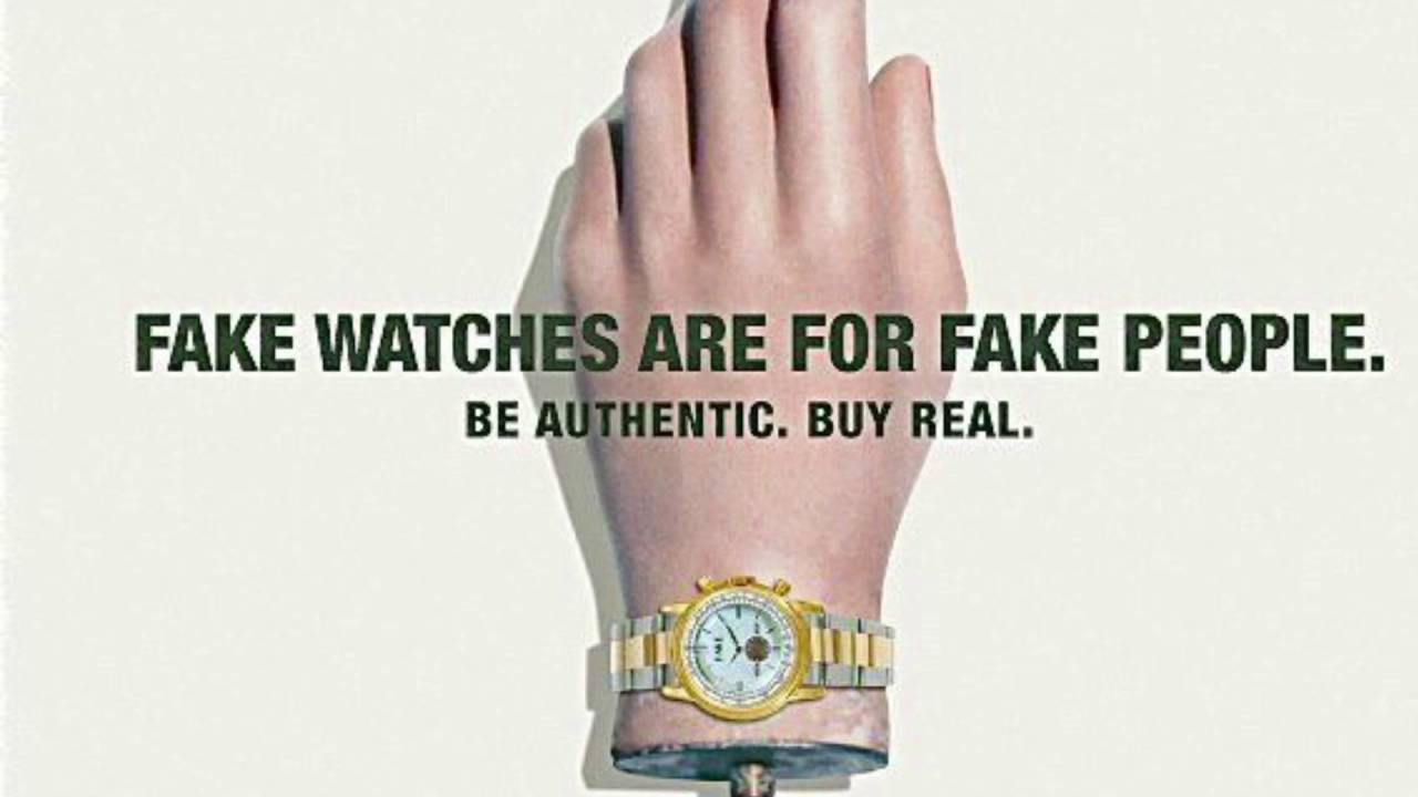 Best place to buy replica watches - The Truth About Replica Watches Part 3 Fake Watches For Fake People