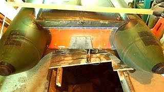 Ремонт човни ПВХ. Repair of PVC boat.