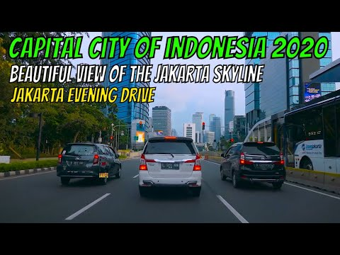 AMAZING JAKARTA May 2020 Driving Downtown - INDONESIA