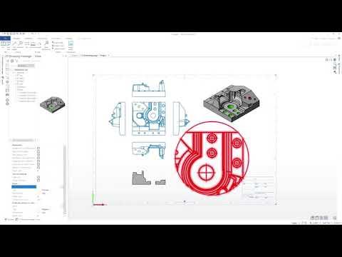 EGECAM DESIGNER 2022.0 - tworzenie dokumentacji 2d