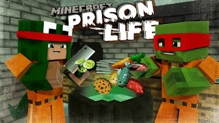 Minecraft Prison Life - CAN LITTLE KELLY SAVE US!? #4 w/ Little Lizard & Tiny Turtle