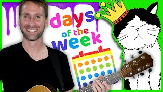 Learn Days of the Week for Kids | Green Day (Cover) | Mooseclumps | Kids Learning Songs