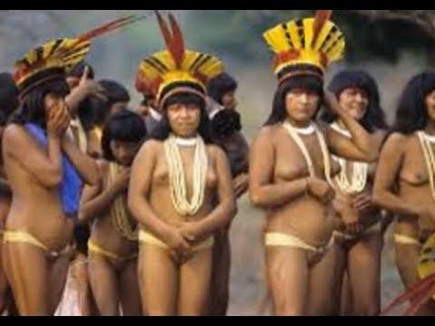 Suku Amazon Pedalaman Bagian Kedua - Suku Pedalaman Amazon - Suku XINGU, Hutan Amazon Brazil