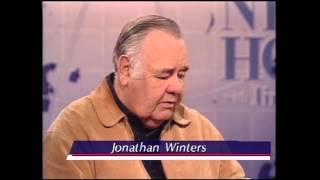 Jim Lehrer Interviews Comedian Jonathan Winters