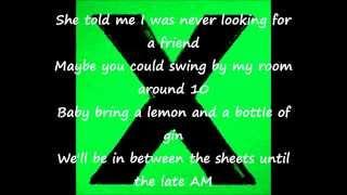 Ed Sheeran Don't (Official Audio Lyric Video) Loop Pedal