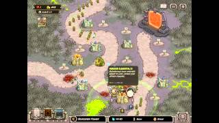 Kingdom Rush HARD DIFFICULTY- Rotten Forest IRON CHALLENGE for iPad