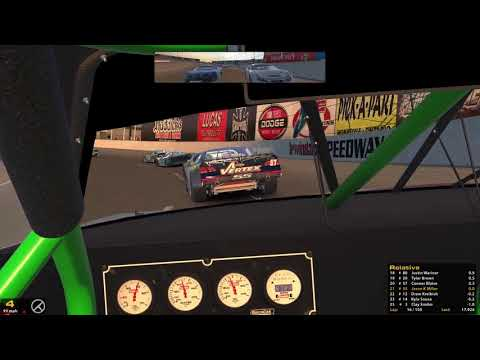 iRacing SARA Button Box Shop Series @ Irwindale 8-10-17