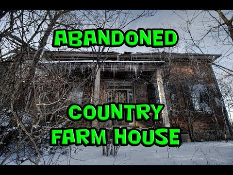 Exploring an Abandoned Country Farm House thumbnail
