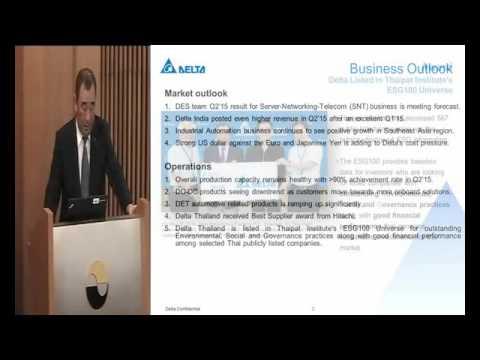 Analyst Meeting Q2/2015