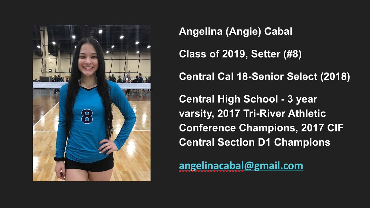 Angelina Cabal S Women S Volleyball Recruiting Profile