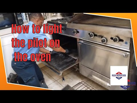 How To Light The Pilot On The Garland Oven